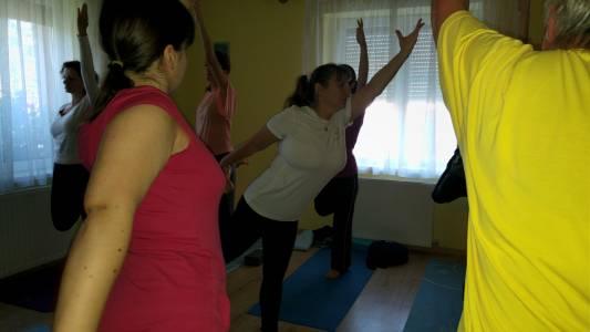 Hatha jóga Katával